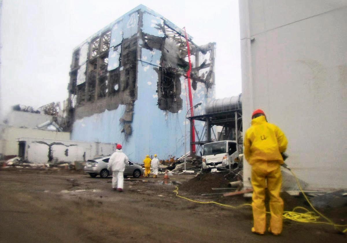 Fukushima-ouvrier