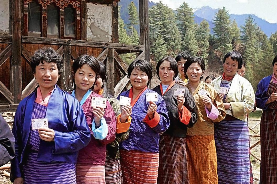 24 mars 2008 : le peuple participe  aux premières élections de l'Assemblée nationale au suffrage universel