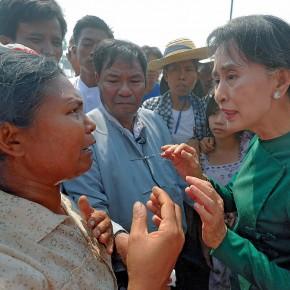 Birmanie, l'image ternie d'Aung San Suu Kyi