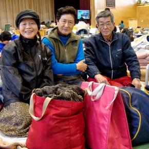 Mme Yamato, rescapée du séisme au Japon