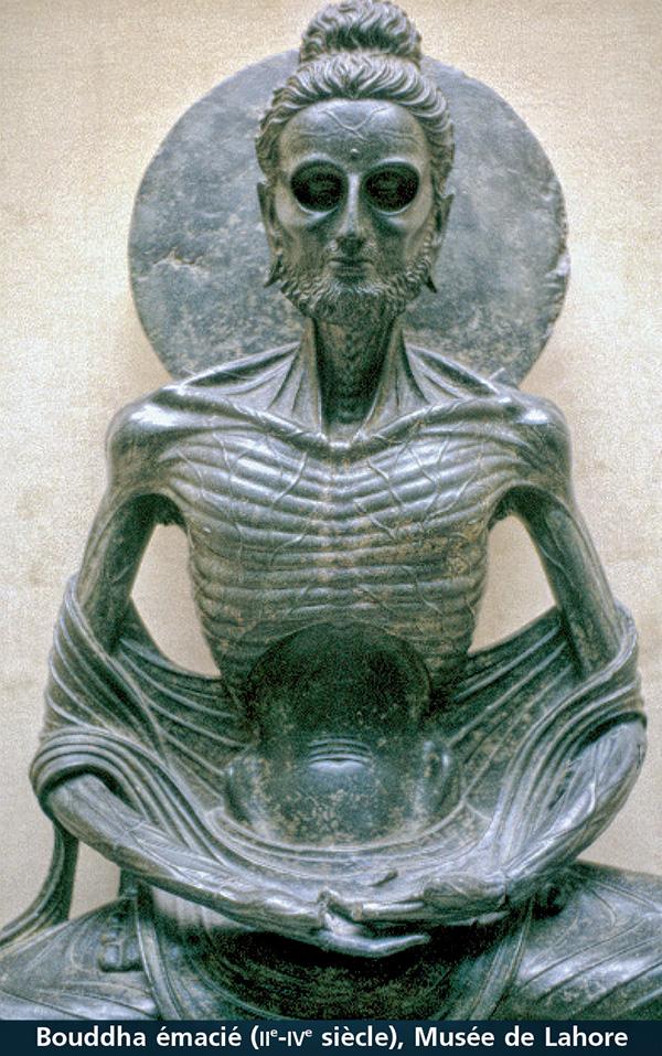 bouddha émacié