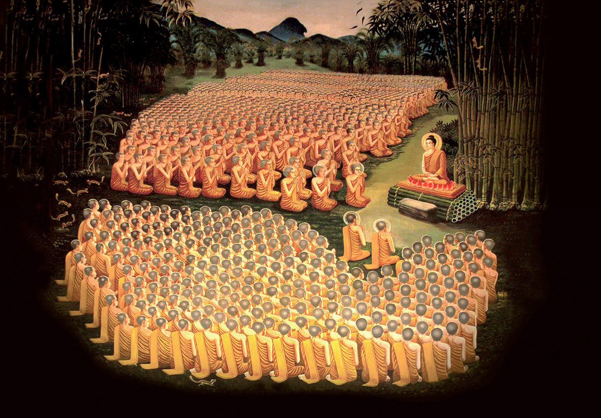 bouddha-et-ses-fidèles