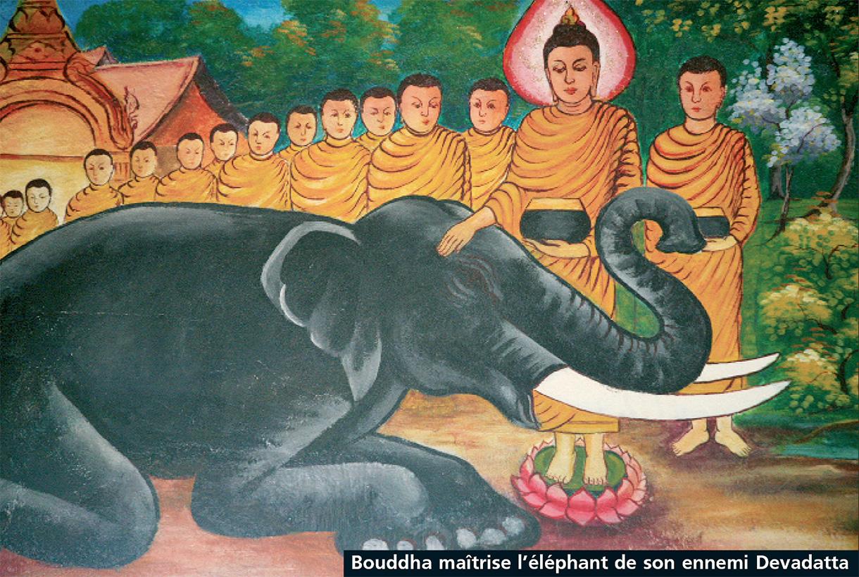 bouddha-maitrise-l'éléphant-de-son-ennemi