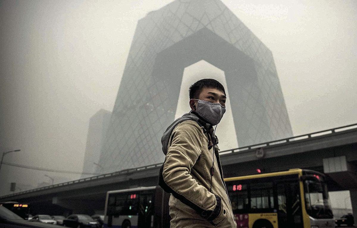 pollution à Pékin