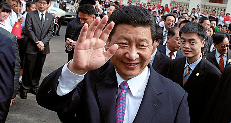 Le vice-président Xi Jinping, en visite à Bangkok
