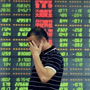Krach rouge à la Bourse de Shanghai