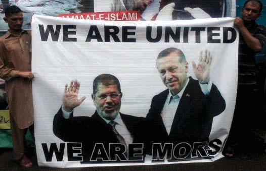 L'alliance Morsi-Erdogan célébrée jusqu'au Pakistan (Lahore) en 2013